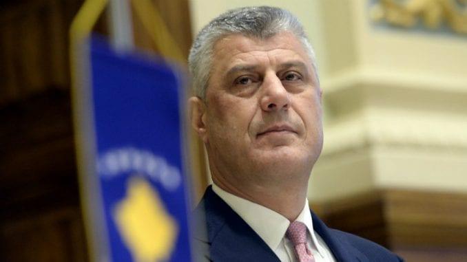 Tači dobio čestitku od Trampa povodom 12. godišnjice nezavisnosti Kosova 1