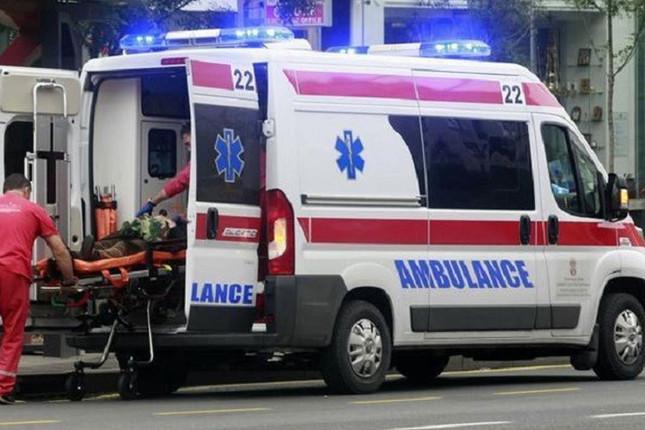 Sudar automobila i autobusa na putu Klek–Žitište, šest osoba povređeno 1