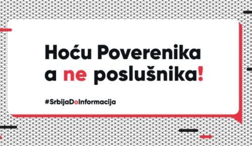 "CRTA pokrenula kampanju ""Hoću Poverenika, a ne poslušnika"" 11"