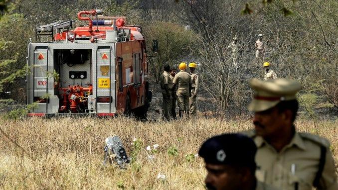 Indija: Dva pilota stradala u padu aviona 1