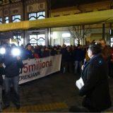 Organizacioni odbor protesta 1 od 5 miliona u Zrenjaninu najoštrije osudio hapšenje Zrenjaninaca 2