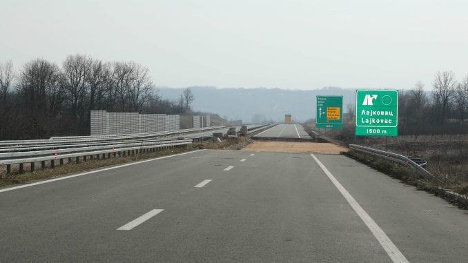 Deonica autoputa Surčin-Obrenovac sutra će biti puštena u saobraćaj 3