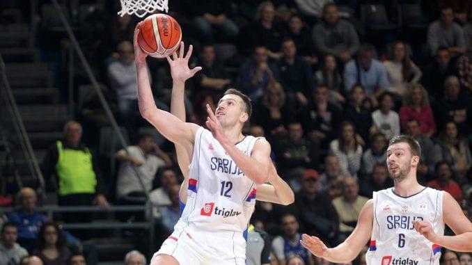 Poraz košarkaša Srbije 1
