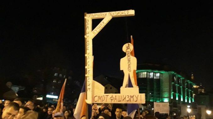 Kragujevčanin priveden nakon protesta 1