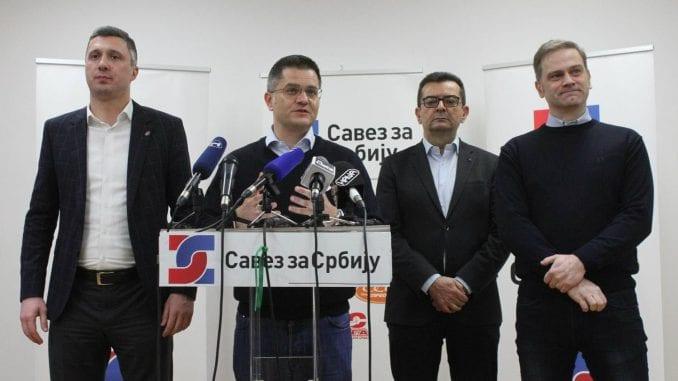 Savez za Srbiju: Vesić pričom o fontani vređa inteligenciju 1