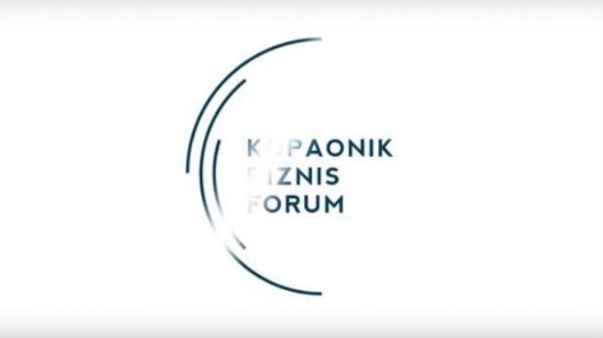 Počinje Kopaonik biznis forum 1
