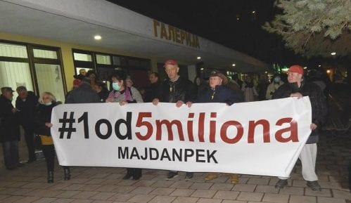 """Protest """"1 od 5 miliona"""" u Majdanpeku posle godinu dana pauze 7"""