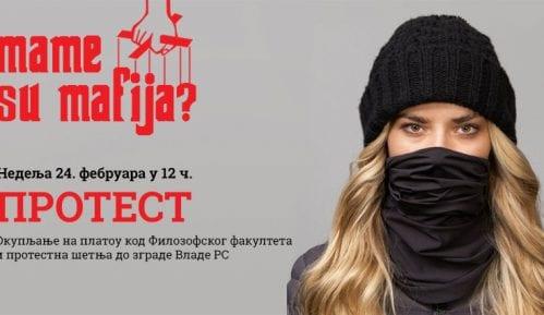 """Protestna šetnja """"Mame su mafija"""" 24. februara u Beogradu 6"""