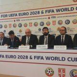 Udovičić na kvadrilateralnom sastanku o kandidaturi za EP i SP u fudbalu 9