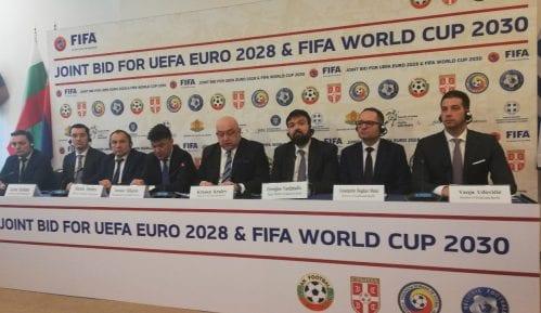 Udovičić na kvadrilateralnom sastanku o kandidaturi za EP i SP u fudbalu 2