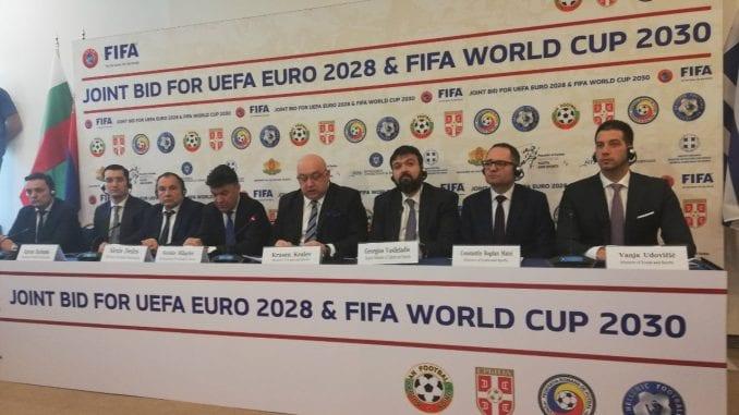 Udovičić na kvadrilateralnom sastanku o kandidaturi za EP i SP u fudbalu 4