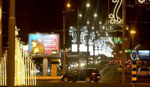 Raspisan tender za popravku novogodišnje rasvete u Beogradu 2