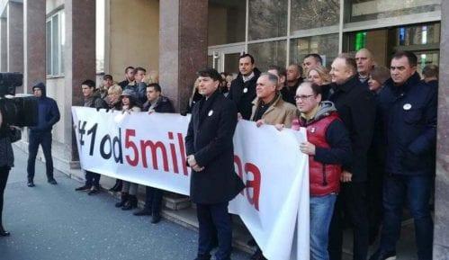 Opozicija bojkotuje sednicu Skupštine Beograda u skladu sa Sporazumom sa narodom 13