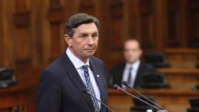 Pahor danas u Prištini, sutra u Beogradu uoči samita Procesa Brdo-Brioni 5