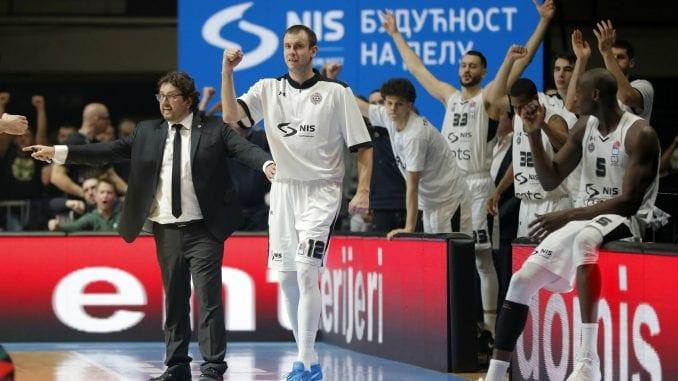 Partizan ubedljiviji od Dinamika za osmu pobedu u Superligi 1