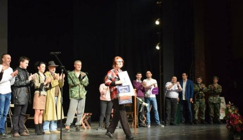 """Pozorišni festival """"Milivojev štap i šešir"""": Snežana Mandrašević glumica večeri 12"""