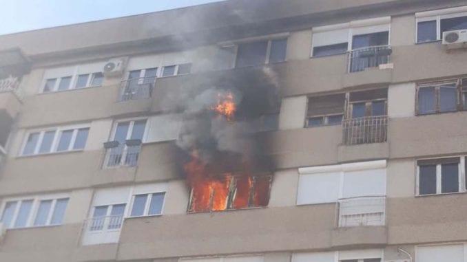 """Vatra uništila stan u palati """"Morava"""" 3"""