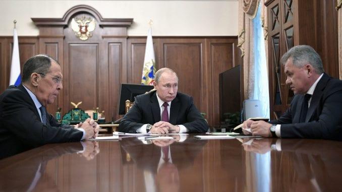 Putin: I Rusija će istupiti iz sporazuma o nuklearnom oružju 1