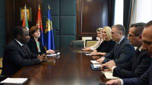Stefanović se zahvalio Burundiu na povlačenju priznanja Kosova