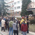 """Vidojković na protestu """"1 od 5 miliona"""": Građani su Vučićevi taoci (FOTO, VIDEO) 15"""
