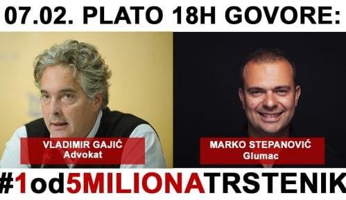 """Novi protest """"1 od 5 miliona"""" 7. februara u Trsteniku 10"""