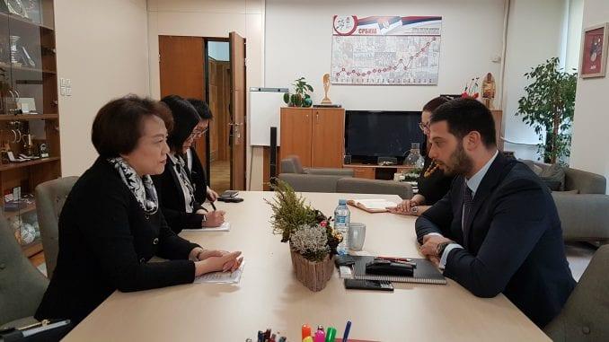 Udovičić sa ambasadorkom Kine o saradnji u oblasti sporta 4