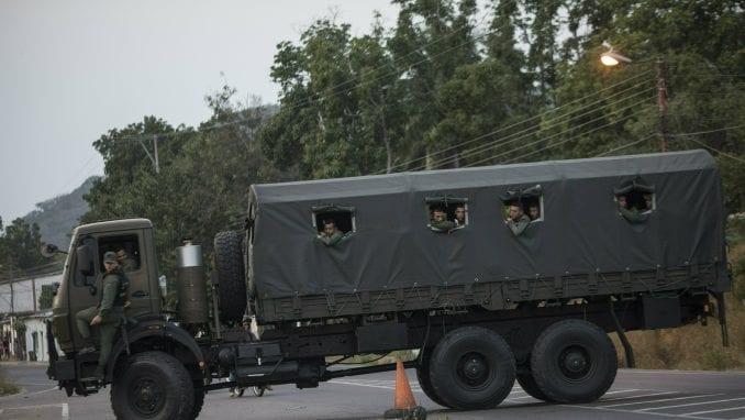 Vojska Venecuele rasterala građane na granici s Kolumbijom 1