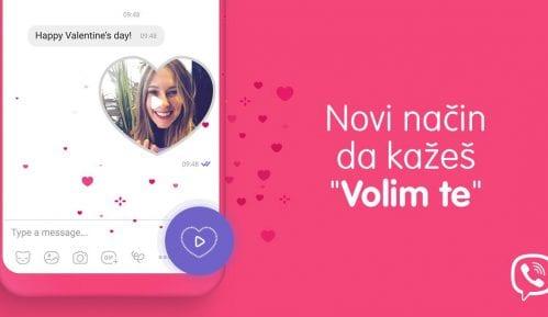 Viber predstavio posebne video poruke u obliku srca za Dan zaljubljenih 9