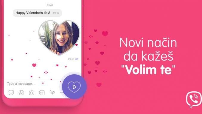 Viber predstavio posebne video poruke u obliku srca za Dan zaljubljenih 1