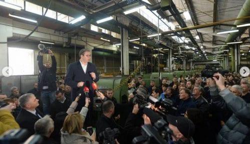 Vučić: Ne postoji bilo kakav sporazum o promeni granica sa Kosovom 7