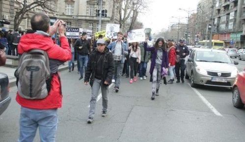 Sindikat prosvetara Vojvodine podržao studentski marš 6. aprila 2