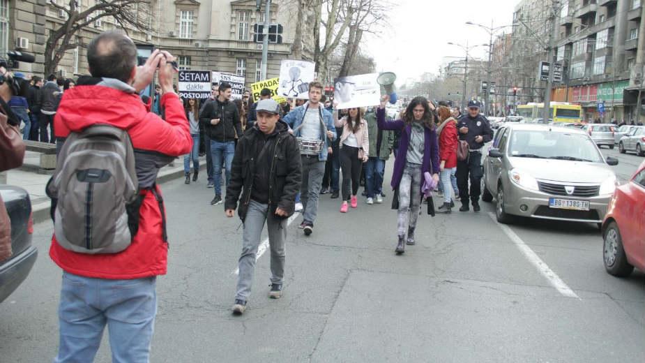 Sindikat prosvetara Vojvodine podržao studentski marš 6. aprila 1