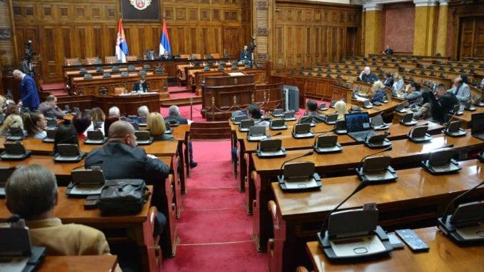 Opozicionim poslanicima isključeni mikrofoni i odbijen zahtev za konferenciju 3