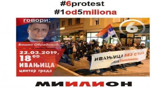 Šesti protest Jedan od pet miliona u Ivanjici 22. marta 10