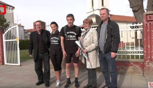 """Ultramaraton do protesta """"1 od 5 miliona"""" krenuo iz Svilajnca 8"""