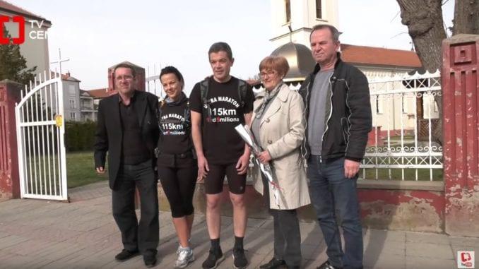 """Ultramaraton do protesta """"1 od 5 miliona"""" krenuo iz Svilajnca 1"""