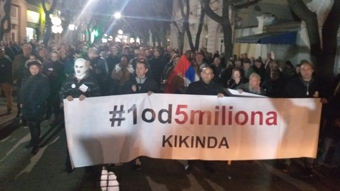 Protesti 1 od 5 miliona u više gradova (VIDEO, FOTO) 5
