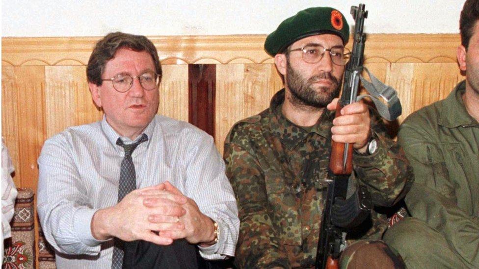 Ričard Holbruk, Kosovo, jun 1999