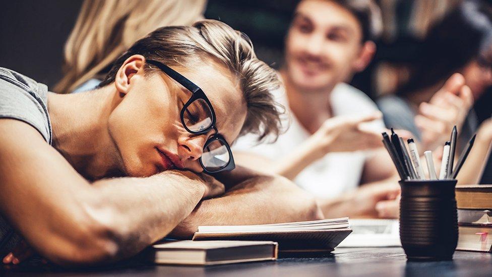 Učenica koja spava