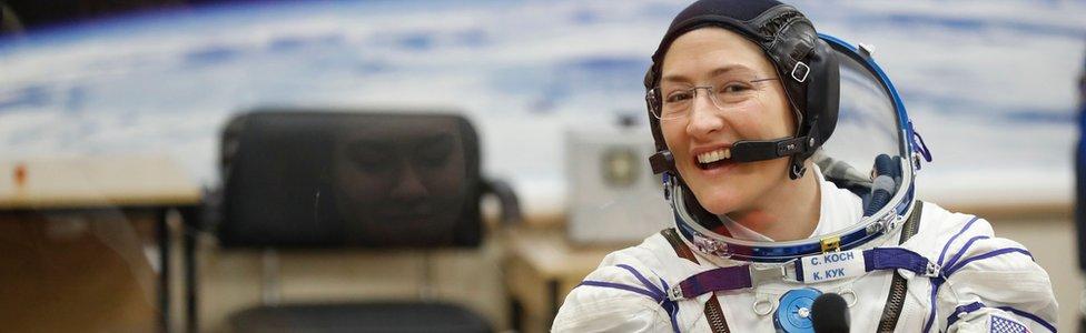 NASA astronaut Christina Koch