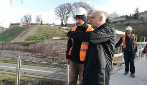 Radojičić obišao radove na rekonstrukciji centralnih gradskih saobraćajnica 1