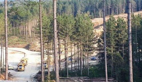 Iskrčili šumu i sagradili pogon za proizvodnju municije 13