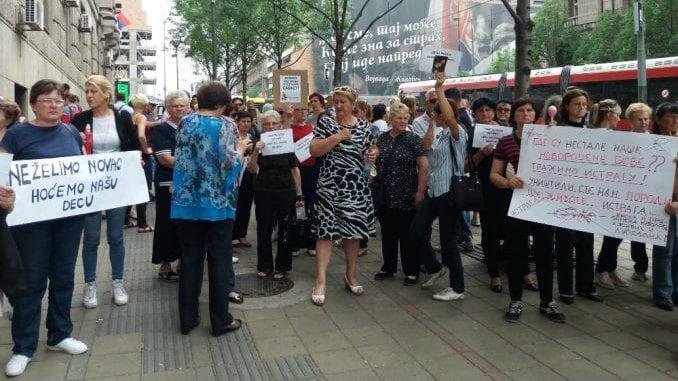 Roditelji nestalih beba najavljuju protest 2