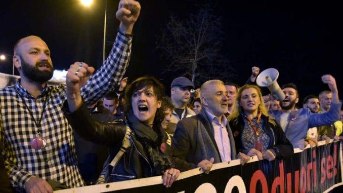 Na protestu u Podgorici najavljene akcije otpora širom Crne Gore 4