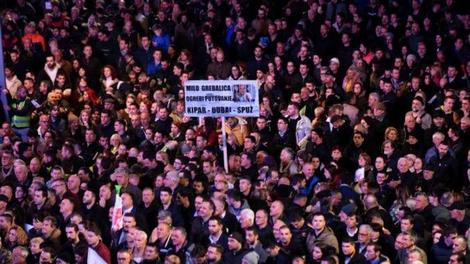 Crnogorski protesti uspešniji od srpskih 1