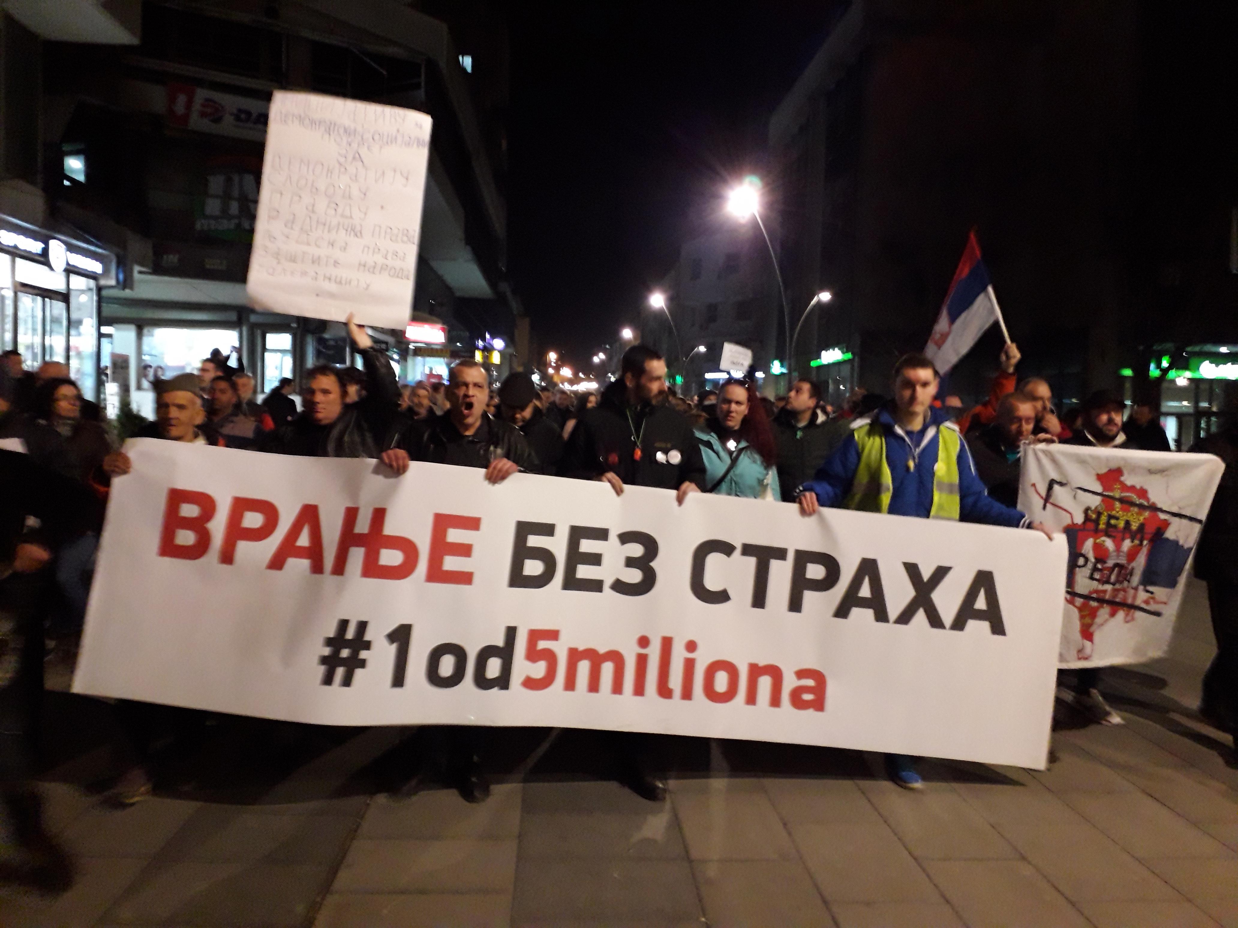 Protesti 1 od 5 miliona u više gradova (VIDEO, FOTO) 7