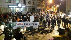 """Protesti """"1 od 5 miliona"""" održani u više od 25 gradova Srbije (FOTO, VIDEO) 12"""