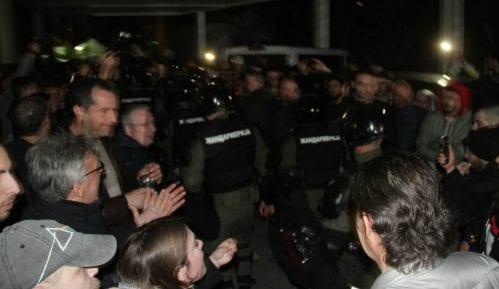 MUP: Više osoba privedeno zbog nasilnog upada u RTS 4