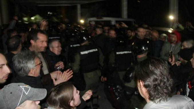 MUP: Više osoba privedeno zbog nasilnog upada u RTS 2