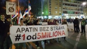 """Protesti """"1 od 5 miliona"""" održani u više od 25 gradova i opština (FOTO, VIDEO) 25"""